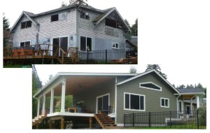 Exterior - BEfore & After